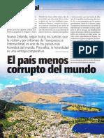 El País Menos Corrupto Del Mundo