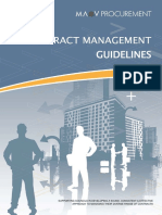 Contract Management Guidelines