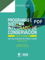 Guia Programa Del Sistema Integrado de Conservacion SIC