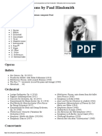 List of Compositions by Paul Hindemith - Wikipedia, The Free Encyclopedia