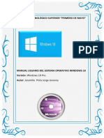 Manual de Usuario (Windows 10pro)