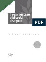 Commentario Biblico Del Discepolo NT di William MacDonald
