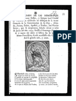 San VIcente Ferrer Siglo XVIII