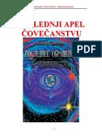 Poslednji Apel Čovečanstvu-Nikolaj Levašov