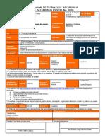 Planeacion Informatica IV Bloque 3er. Grado 2do Tema