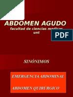 Abdomen Agudo 2011