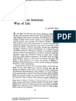 Crime as an American Way of Life by Bell