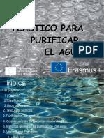 Plásticos para purificar el agua