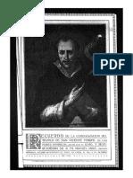 Milagro de la mujer fea (siglo xix). San Vicente Ferrer