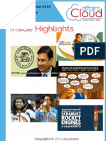 Current Affairs Study PDF Capsule - August  2016 by AffairsCloud.pdf