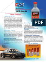 100% Synthetic 5W-30 Motor Oil (ASL)