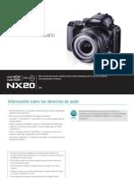 NX20 Spanish
