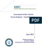 Assessment of the Nuclear Power Industry Final Report