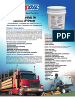 Semi-Fluid Grease Data Bulletin