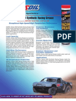 Series 2000 Synthetic Racing Grease Data Bulletin