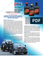 Severe Gear Synthetic EP Gear Lubes Data Bulletin