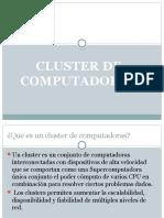 Cluster de Computadoras CORREGIDO