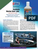 Universal Synthetic Marine Gear Lube Data Bulletin