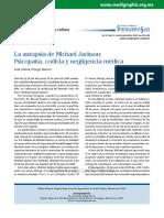 Autopsia de Michael Jackson