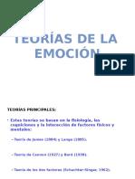 Teorias de La Emocion Diapos