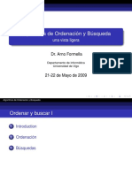 Diapositiva AlgoritmosOrdenacion