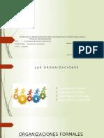 Tipos de Organizacion Capitulo 8
