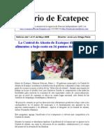 Diario de Ecatepec Noticias del 1 al 31 de Mayo