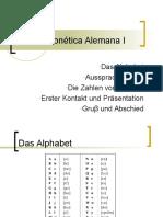 ESAY - Fonética Alemana I - 21-AGO-2015