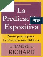 La Predicación Expositiva- Ramesh Richard