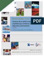 Factores Política Deportiva Española Splissspain4