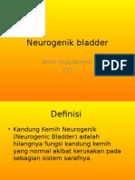 Neurogenik Bladder