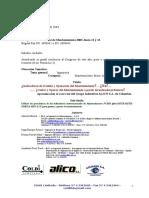Resumen Ponencia COLDI & ALICO 2003 Aciem