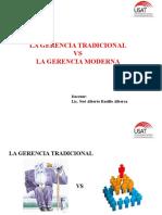 Gerencia Moderna vs Tradicional (1)