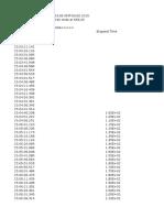 TP Cinetica Quimica Datos Absorcion