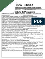 Ficha Boa Ideia - A Batalha Do Pentagrama