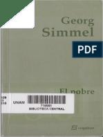 El Pobre_ Georg Simmel