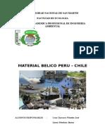 Material Belico de Peru-Chile (W0RD