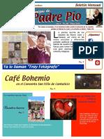 Amigos de Padre Pio Mayo 2016