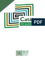Catalogo de Publicaciones - Iep