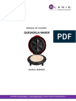 Manual Quesadilla Maker Blanik