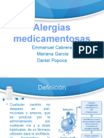 Alergias medicamentosas - Alergologia