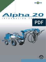 Ficha Tecnica a20 02