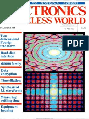 Wireless World 1986 12   Manufactured Goods   Digital & Social Media