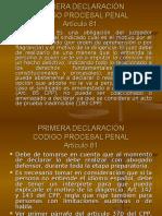 Primera Declaración