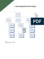 Estructura de Descomposición Del Trabajo