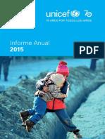 Unicef Annual Report 2015 Spanish Web 24aug2016