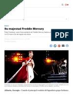 Su majestad Freddie Mercury | El Nuevo Día