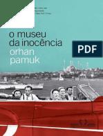 Orhan Pamuk - O Museu da Inocência