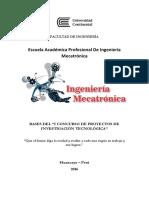 I Concurso Proyectos Investigacion Tecnologica