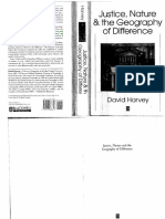 Harvey, D. Justice, Nature and Geography of Difference
